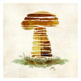 Mushroom Prints by Kristin Emery