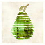 Pear Art by Kristin Emery