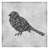 Brocade Bird 1 Posters by Kristin Emery