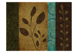 Pressed Leaves 1 Posters by Kristin Emery