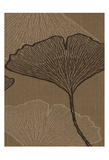 Brown Leaves 2 Prints by Kristin Emery