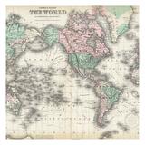 World Map 2 Art by Kristin Emery