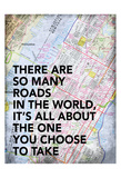 Roads in The World Reprodukcje autor Jace Grey