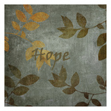 Hope Leaves Art by Kristin Emery