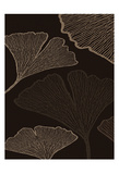 Brown Leaves 1 Posters by Kristin Emery