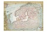 World Map 8 Art by Kristin Emery