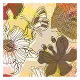 Silhouette Garden 2 Prints by Kristin Emery