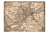 Environs Rome Beige Prints by Carole Stevens