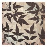 Leaves And Swirls Prints by Kristin Emery