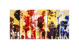 Sunset and Palms 1 Giclee Print by Sven Pfrommer