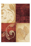 Red Decor By 4 Posters by Kristin Emery