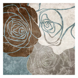 Chocolate Rose Prints by Kristin Emery
