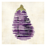 Eggplant Art by Kristin Emery