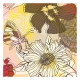Silhouette Garden Print by Kristin Emery
