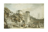 St. George's Gate, Canterbury Giclee Print by Paul Sandby