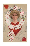 Queen of My Heart Postcard Giclee Print