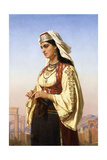 A Greek Beauty Giclee Print by Charles-Emile-Hippolyte Lecomte-Vernet