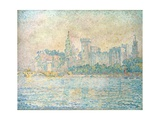 Avignon, Morning Giclee Print by Paul Signac