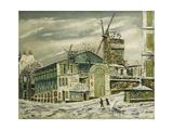 Le Moulin De La Galette Giclee Print by Elisee Maclet
