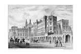 Print of Houses of Parliament before 1834 Fire Giclee Print