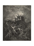 Their Summons Called from Every Band Squared Regiment Lámina giclée por Dore, Gustave