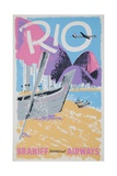 Rio Braniff International Airways Giclee Print