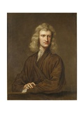 Portrait of Sir Isaac Newton Giclee Print by Godfrey Kneller
