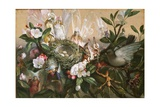 Fairies Round a Bird's Nest - the Distressed Mother Giclee Print by John Anster Fitzgerald