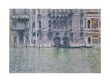 Palazzo Da Mula Giclee Print by Claude Monet