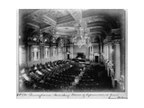 View of House of Representatives from Rear Balcony, 1906 Giclee Print