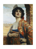A Spanish Beauty Giclee Print by Hans Hassenteufel