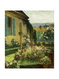 The Artist's Garden Giclee Print by Henri Martin