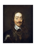 Portrait of King Charles I, Bust Length Giclee Print by William Dobson