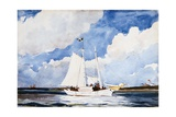 Fishing Schooner, Nassau Giclee Print by Winslow Homer