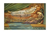 The Sleeping Princess Giclee Print by Edward Burne-Jones