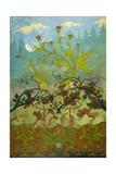 Thistles and Foxglove Giclée-Druck von Paul Ranson