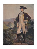 Illustration of George Washington Giclee Print by Stanley Arthurs