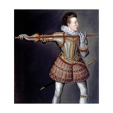 Henry, Prince of Wales Giclee Print by Isaac Oliver