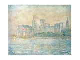 Avignon, Morning Giclee Print by Paul Signac