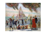 From under Willows Giclee Print by William James Glackens