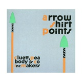 Arrow Shirt Points Advertisement Giclee Print by Egbert G. Jacobson