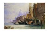 Santa Maria Della Salute and the Grand Canal, Venice Giclee Print by William Callow