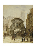 Temple Bar Giclee Print by Louise J. Rayner