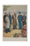 People's Leaders of the Peoples Republic of China, Chinese Cultural Revolution Giclee Print