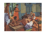 Susruta, Surgeon Old India Giclee Print by Robert Thom