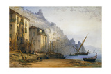 Amalfi from the Shore - a Summer's Morning Giclee Print by William Callow