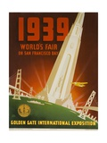 1939 San Francisco Golden Gate Exposition World's Fair Poster Giclee Print