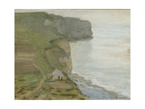 Cape Antifer, Etretat Giclee Print by Claude Monet
