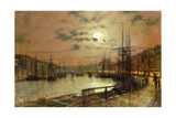 Whitby Giclee Print by John Atkinson Grimshaw