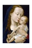 Jungfrau mit Kind Giclée-Druck von Rogier van der Weyden